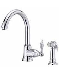 Fairmont Collection kitchen faucet with side spray