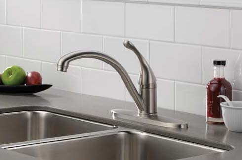 Nice Single Handle Faucet Installation Example