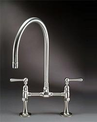 Steam Valve Original deck mount bridge kitchen faucets