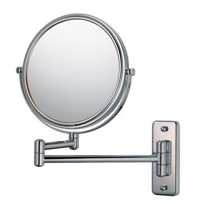 Double Sided Pivot Arm Non-lighted Wall Mirror