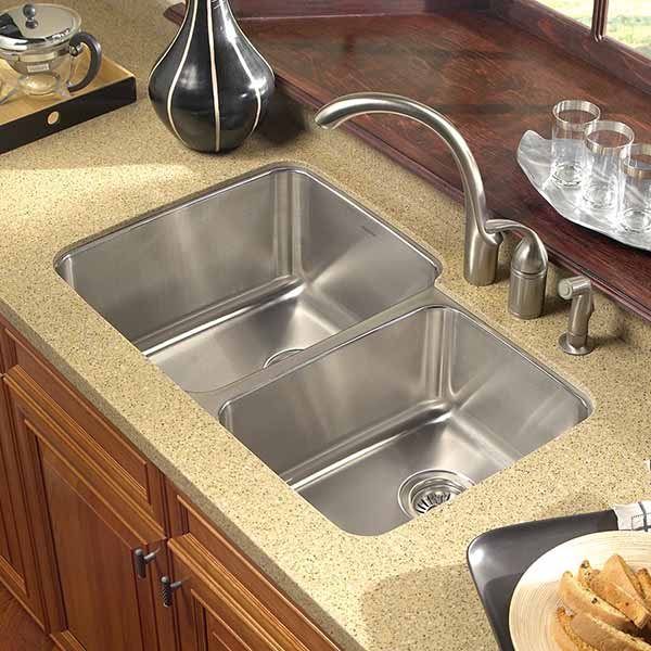 double bowl kitchen sink - Bowl Kitchen Sink