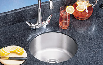 Stainless steel kitchen prep sink