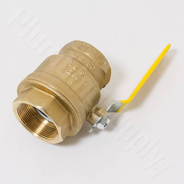 Brass/bronze ball valve
