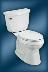 Kohler Cimarron two-piece toilet