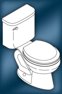 Confidente K-3556 Toilet