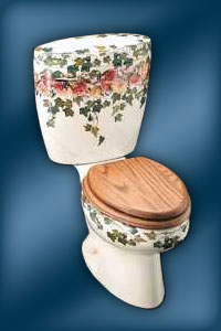 Peonies & Ivy K-14215-PS Toilet