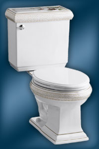 Crimson Topaz K-14231-TC toilet