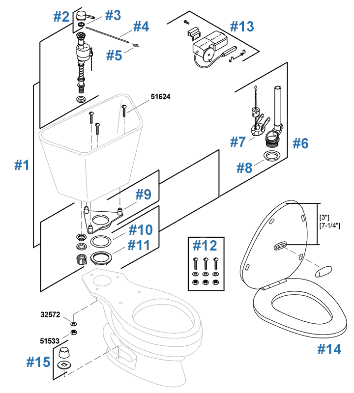 faucet parts diagram easy