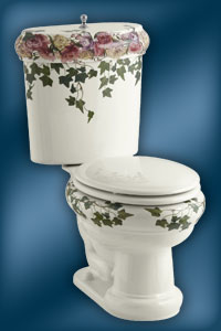 Peonies & Ivy K-14239-PS Toilet