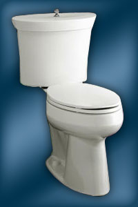 Top Part Of A Toilet