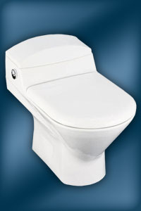 Trocadero one-piece toilet - K-3437