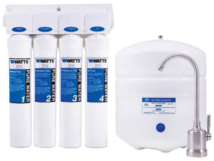 Image of the kwik-change #PWSYS-RO-KC4 reverse osmosis sytem