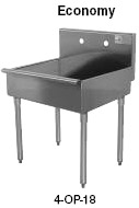 ... standing lightweight, durable, extra deep laundry or utility sinks