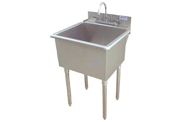 Griffin freestanding utility / laundry sink