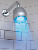 Illuminated showerhead