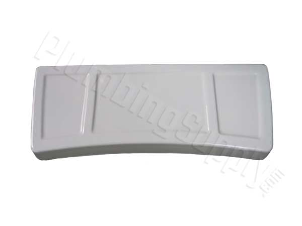 image of white eljer 5250 curved tank lid with ridges
