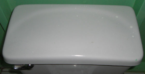 toilet tank lid from St Lucia