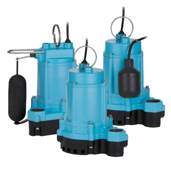 Little Giant Submersible Sump And Effluent Pumps