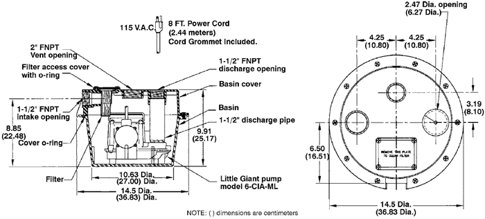 littlegiant pump specs wrsc 6 gray water laundry pump little giant pump wiring diagram at eliteediting.co
