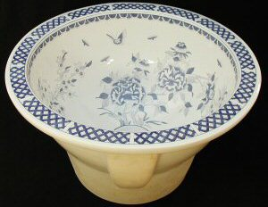 Hand Decorated China Sinks Exclusively Available At