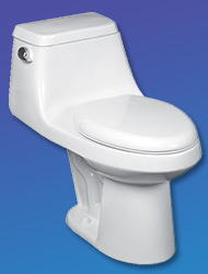 Mansfield Aegean One-Piece Toilet