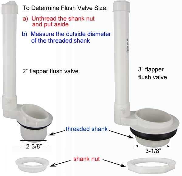 Replacement Flush Valves For Toilets
