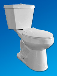 Maverick super low flow toilet