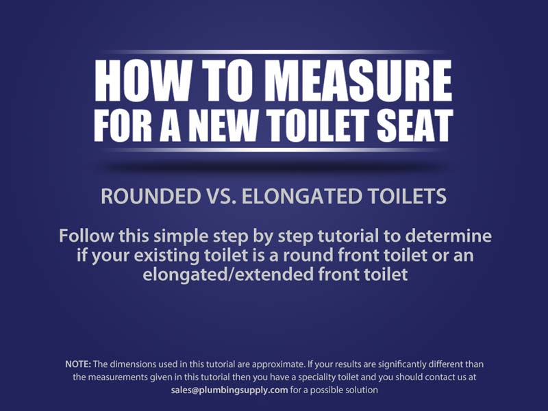 How to Measure for a New Toilet Seat