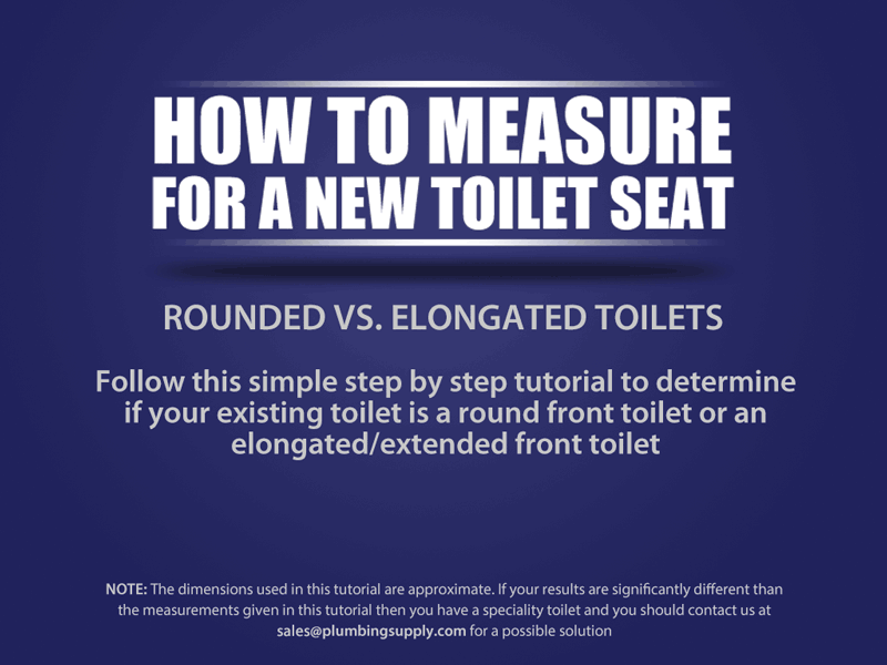 DIY How To Measure A Toilet Seat - Elongated bowl toilet dimensions