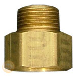 image of 3/4 inch female hose thread (fht) x male iron pipe size fitting