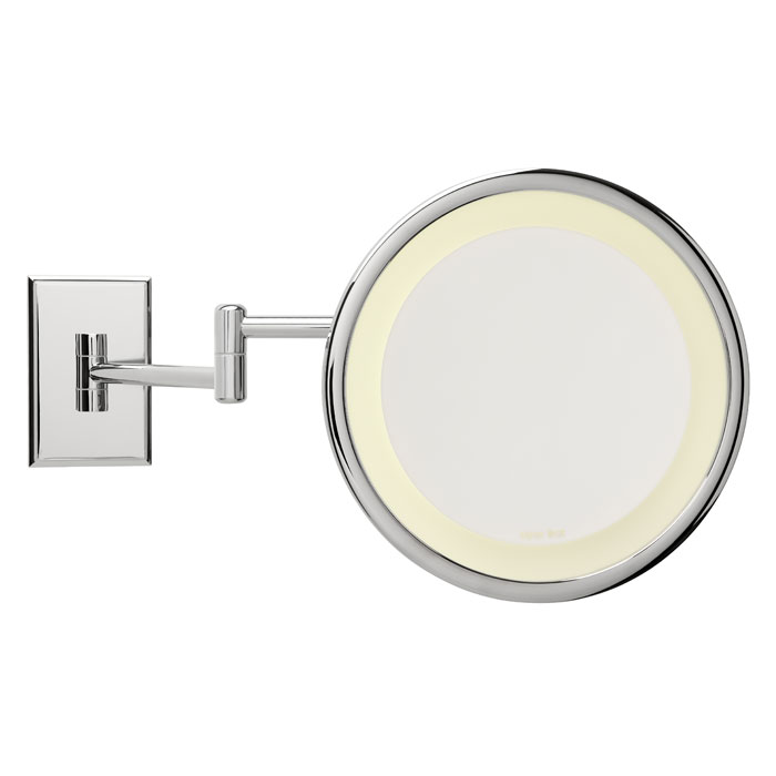 Miroir brot electric wall mounted mirrors for Miroir infini led