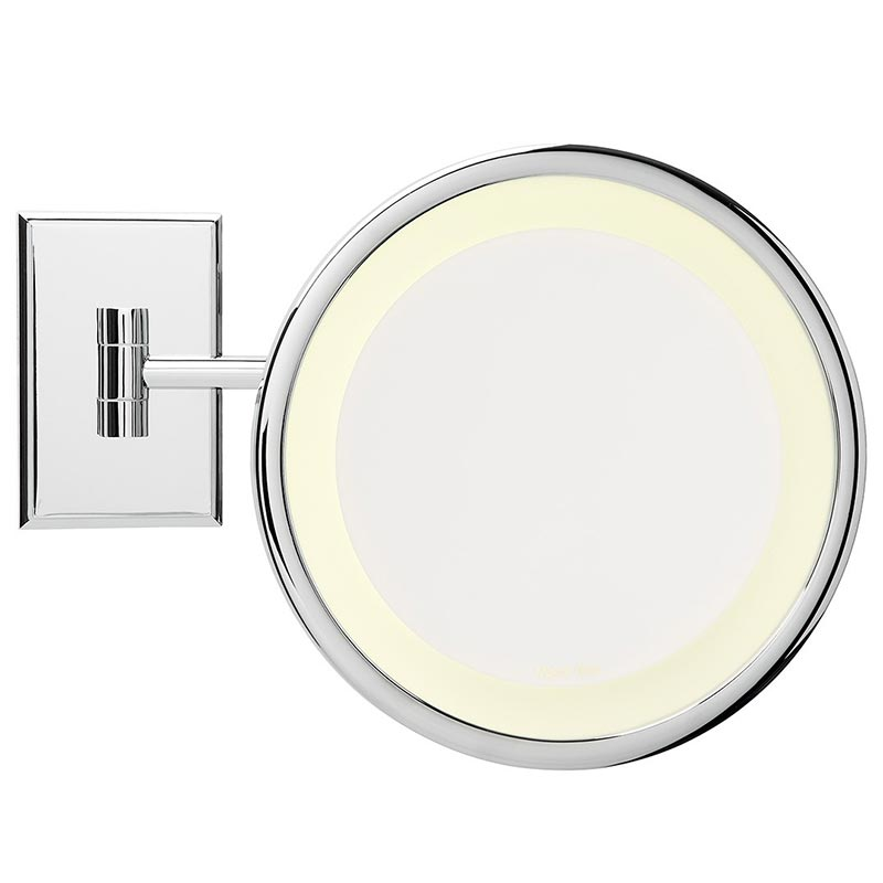 Miroir Brot Reflet C 19 mirror with halo light
