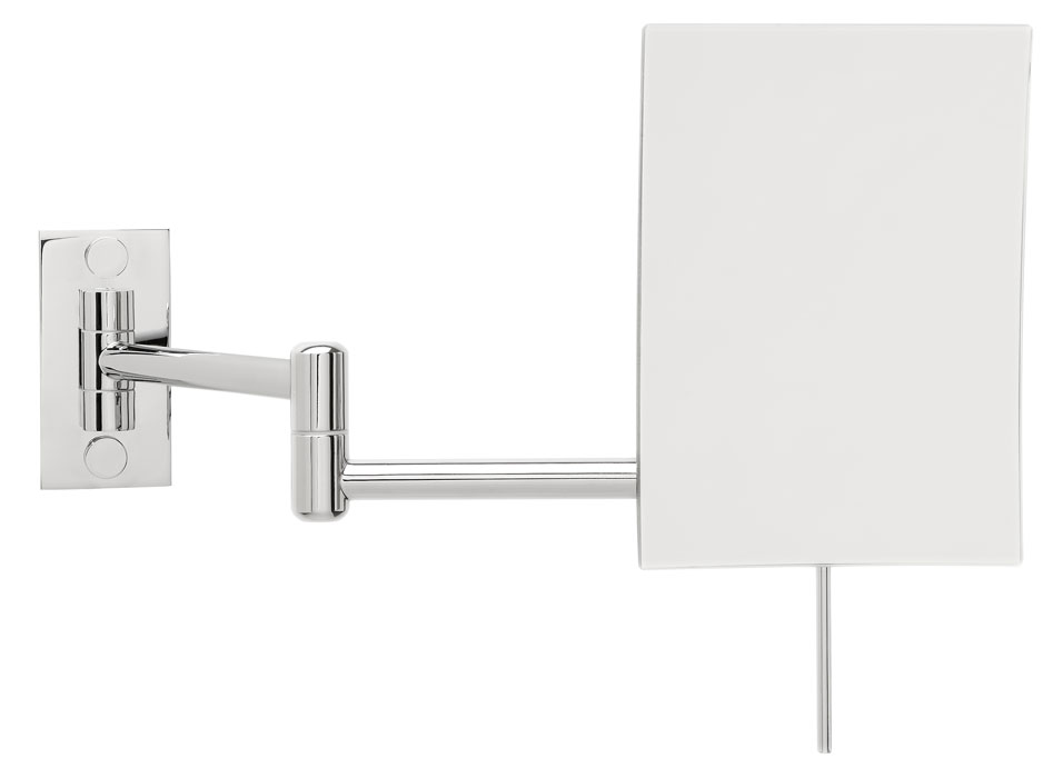 An Image Of The Square Double Arm Non Lighted Mirror
