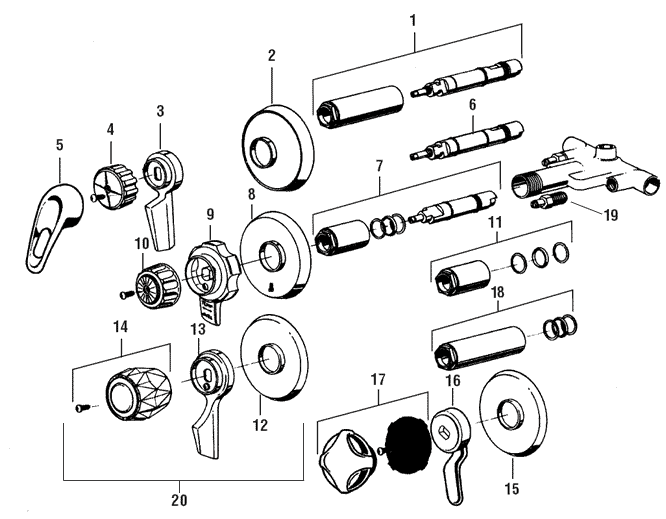 tire stem valve parts diagram