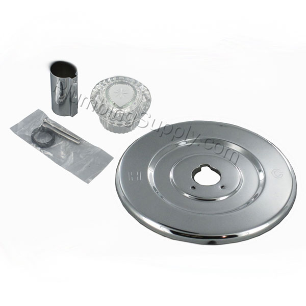 Chrome Tub/Shower Trim Kits For Delta, Valley, and Moen