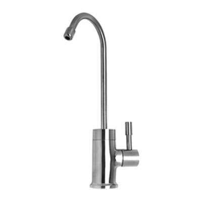 Mountain Plumbing single use faucet with contemporary round base
