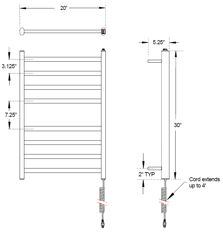Wiring Diagram For Electric Towel Rail