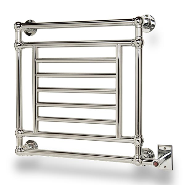 Myson Salmon electric towel warmer