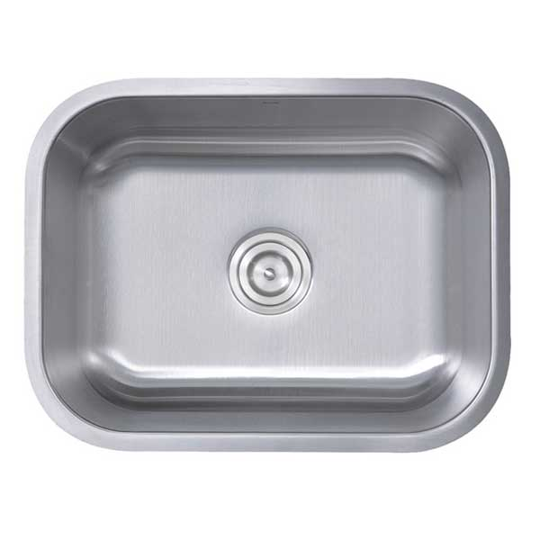 nantucket ns2318 16 rectangular 16 gauge single bowl sink ns09i 16 this rectangular kitchen sink. Interior Design Ideas. Home Design Ideas