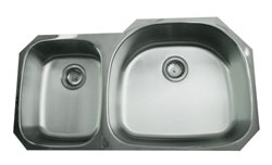 example of the undermount Nantucket sink NS01