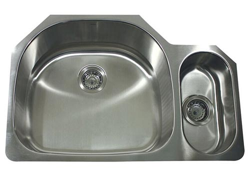 Nantucket designer 80/20 double bowl sink