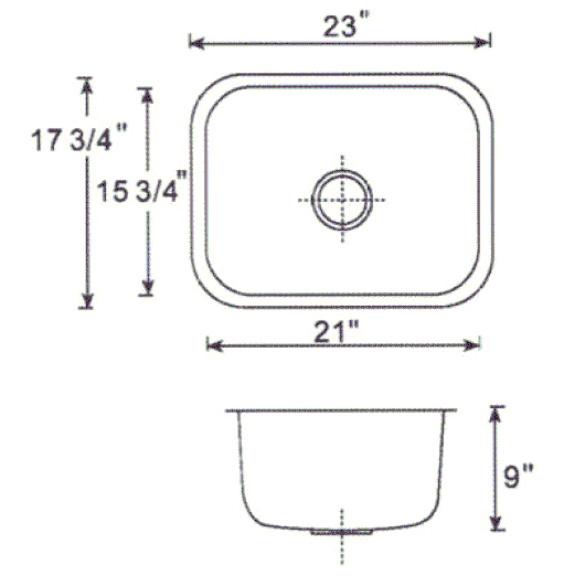 undermount bathroom sink dimensions heavy duty 16 304 stainless steel undermount kitchen 21125