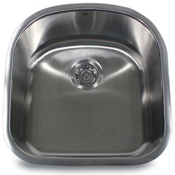 Nantucket single bowl 16 gauge stainless steel kitchen sink by Nantucket