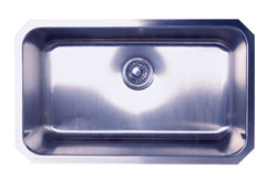 Nantucket 16 gauge extra large single bowl kitchen sink
