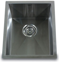 Nantucket 16 gauge single bowl bar or prep sink