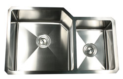 example of the undermount Nantucket sink NS3520