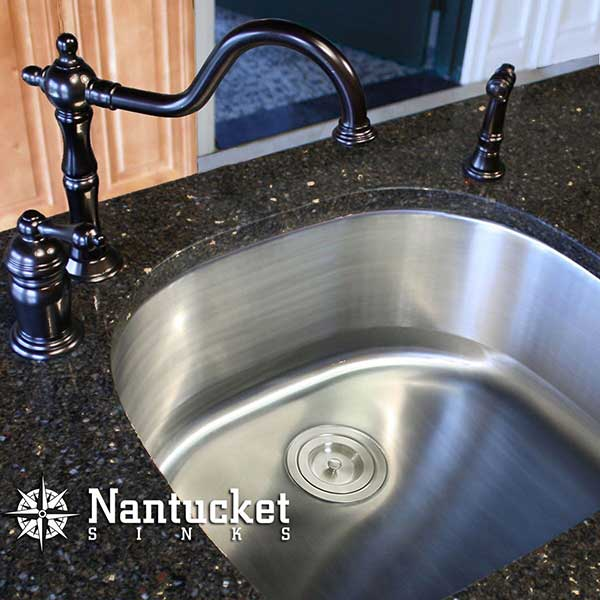 Heavy Duty Stainless Steel Kitchen Sinks Extra durable 16-gauge u0026 18-gauge stainless steel sinks by Nantucket & Heavy Duty Stainless Steel Undermount Kitchen Sinks