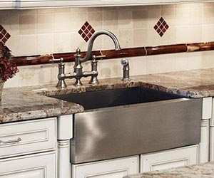 Professional Grade Zero & Small Radius Kitchen Sinks