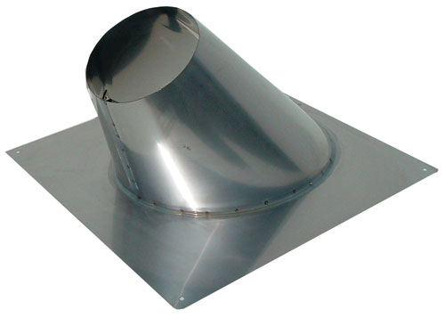 image of Noritz angled roof flashing