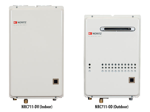 Nrc71 Instant Hot Water Tankless Water Heaters By Noritz